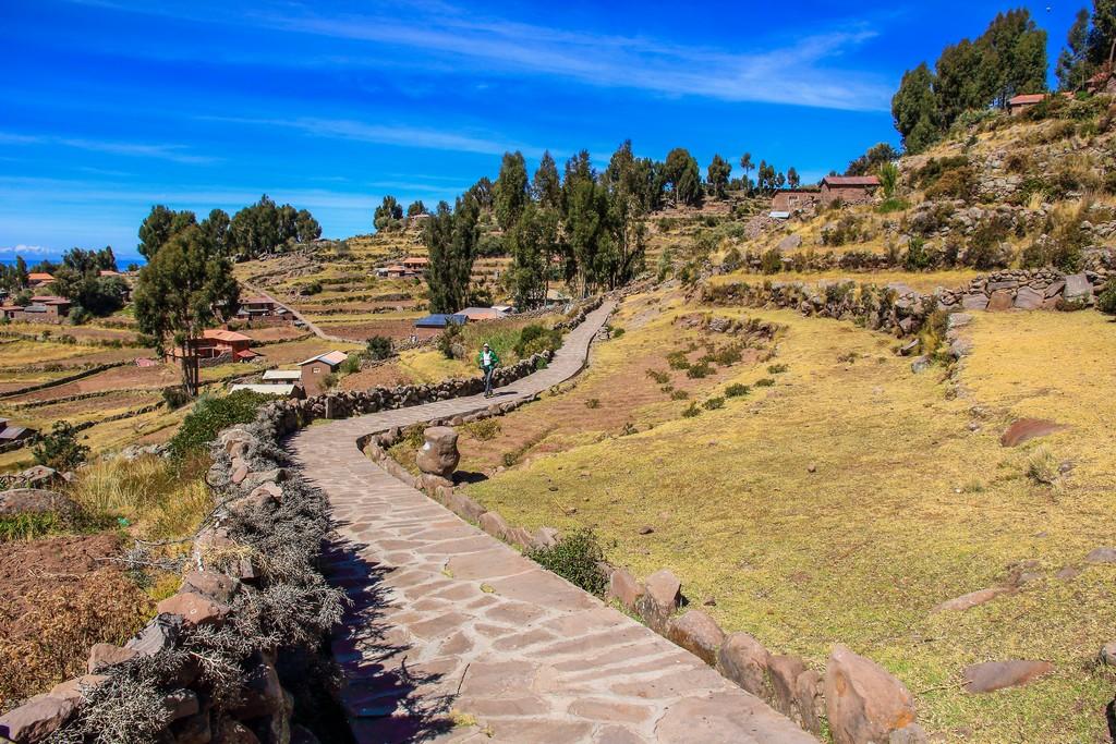 come visitare Amantaní e Taquile Le stradine di Taquile