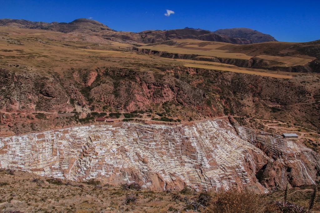 cosa vedere Valle Sacra vista delle saline dall'alto