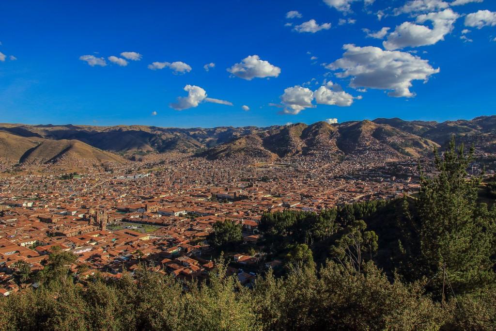 Guida a Cusco e la Valle Sacra Cusco vista dal belvedere del Cristo Blanco