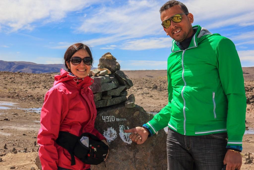 come organizzare un viaggio in Perù Il Paso de Patopampa a 4910 metri di quota