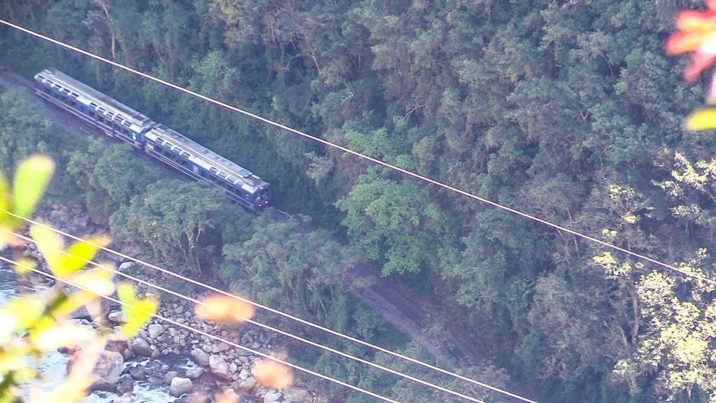 treno dall'alto