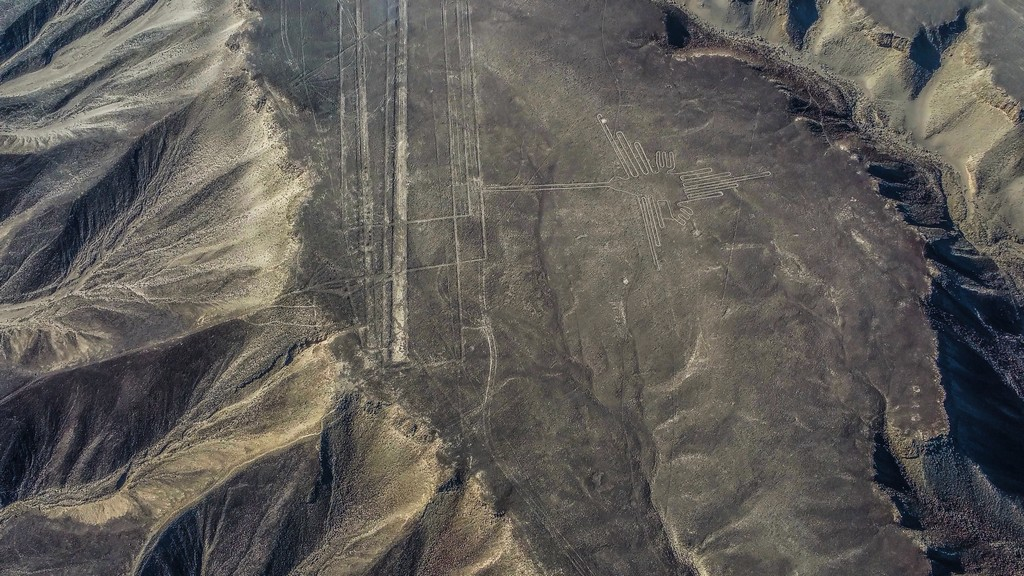 come organizzare un viaggio in Perù Le linee di Nazca - il colibrì