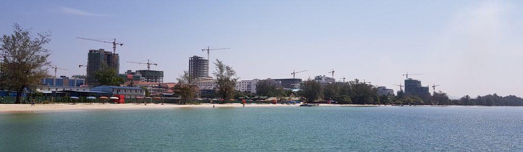 Decine di cantieri a Sihanoukville