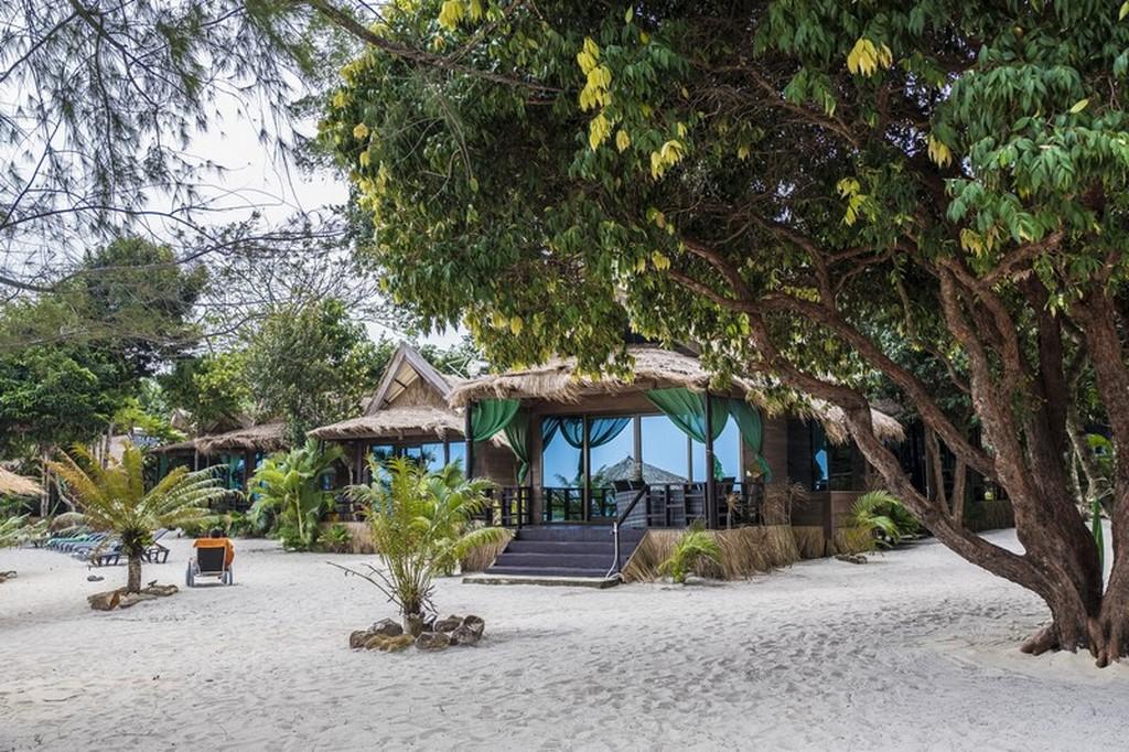 bungalow sulla spiaggia