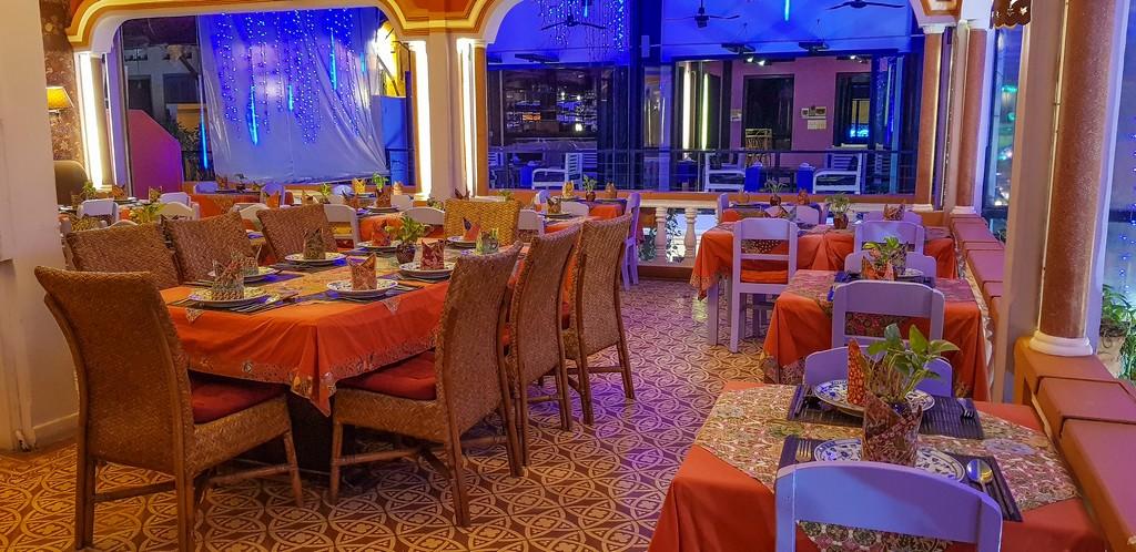 Dove mangiare khmer a Siem Reap l'interno del ristorante
