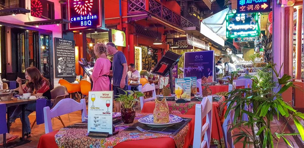 Dove mangiare khmer a Siem Reap l'esterno del ristorante