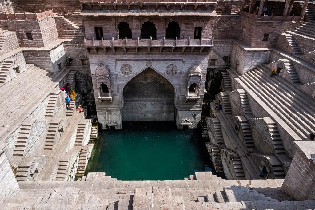 Impressioni a caldo in India pozzo a gradoni