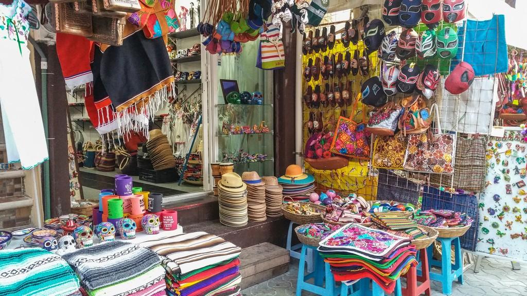 Guida a Isla Mujeres bancarelle