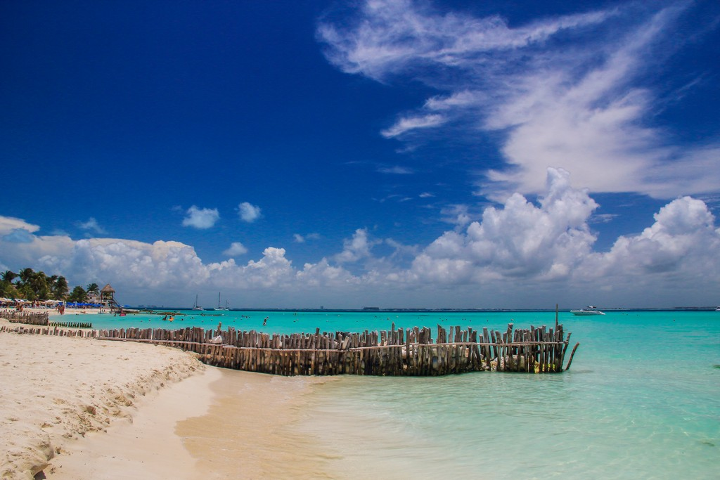 Playa Norte a Isla Mujeres