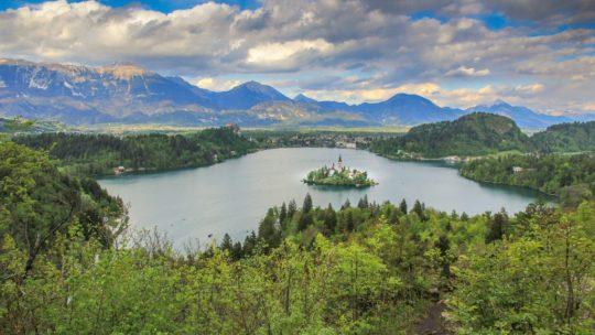 visita al lago di bled slovenia