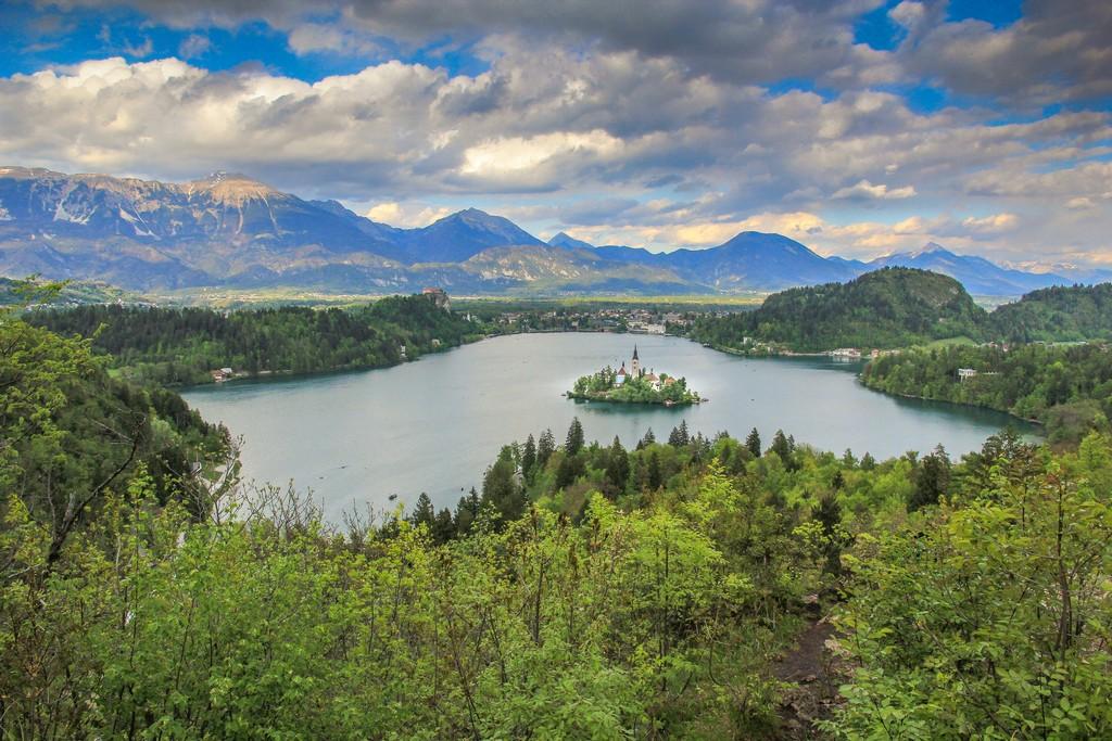 itinerario in Slovenia in 4 giorni visita al lago di bled slovenia