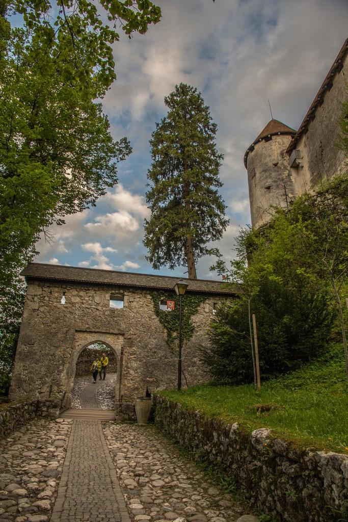 Visita al lago di Bled ingresso al castello