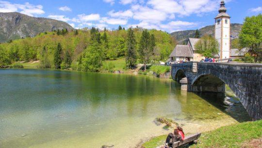 visita al lago di bohinj slovenia