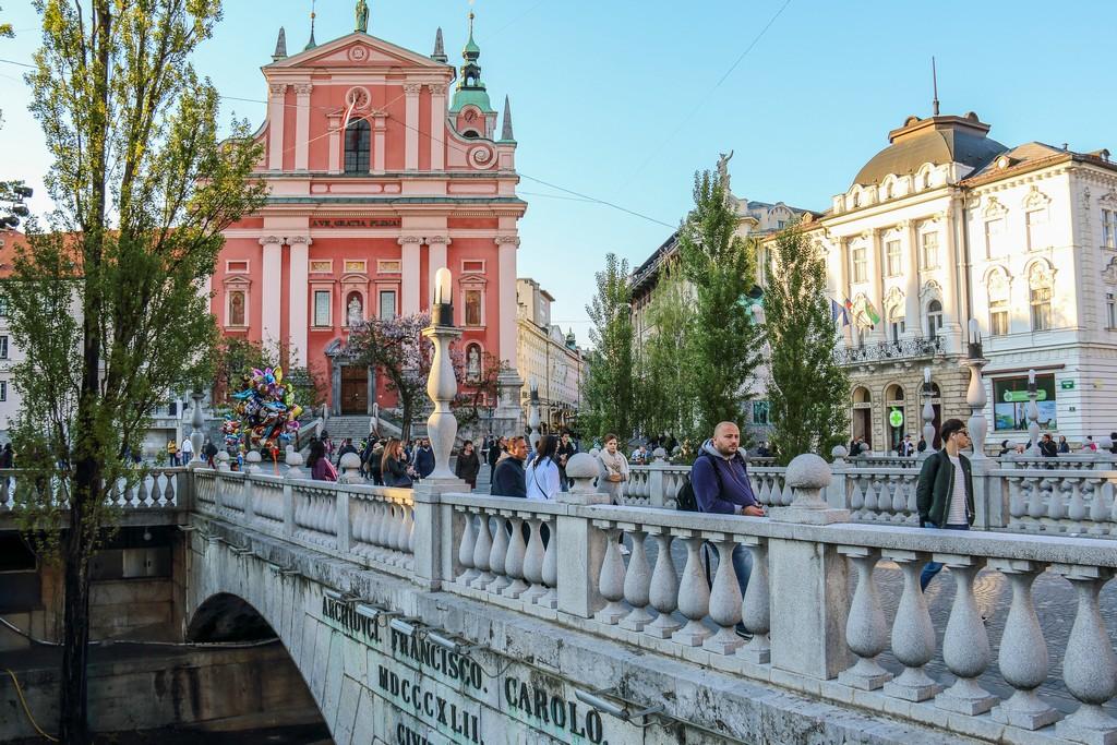 cosa vedere a Lubiana ponte nel centro storico