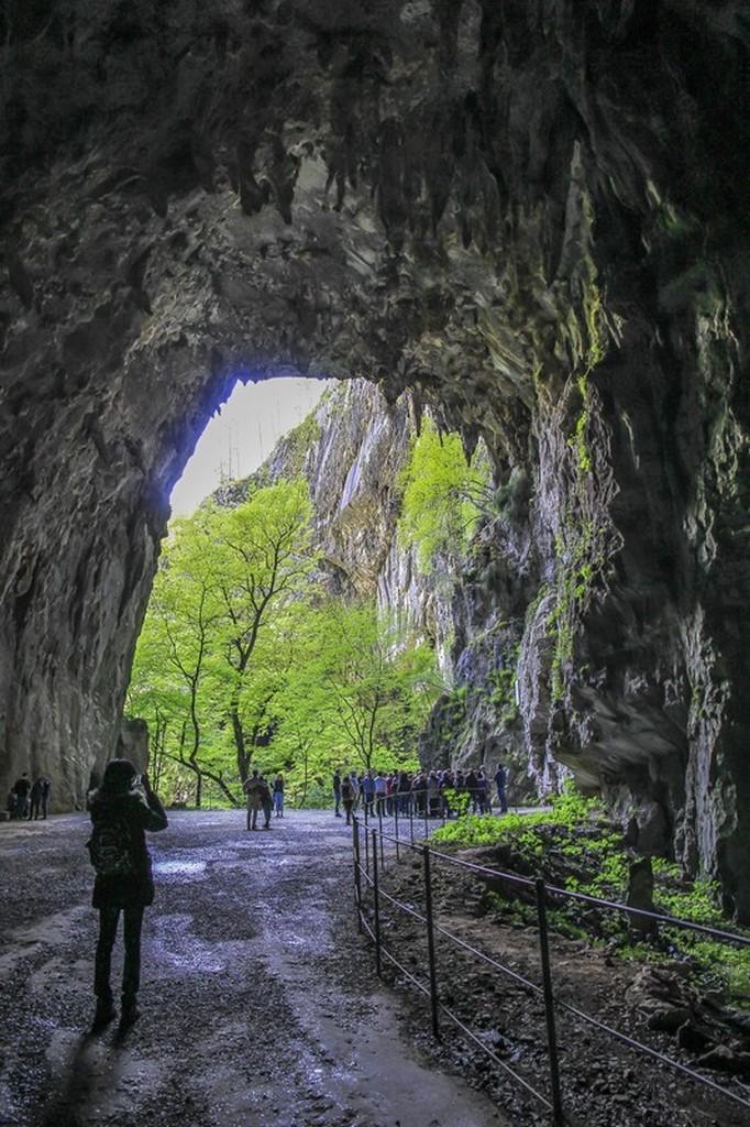 uscita della grotta