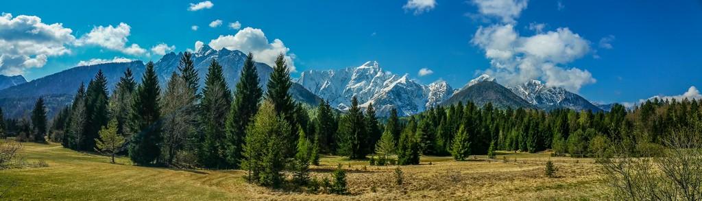 Visita al Parco Nazionale del Triglav panoramica del parco nazionale del triglav