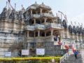 visita ai templi di Ranakpur vista dell'ingresso