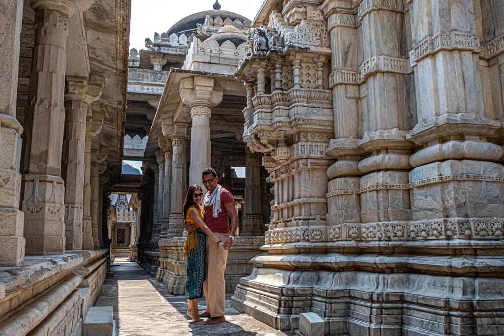 coppia in tempio
