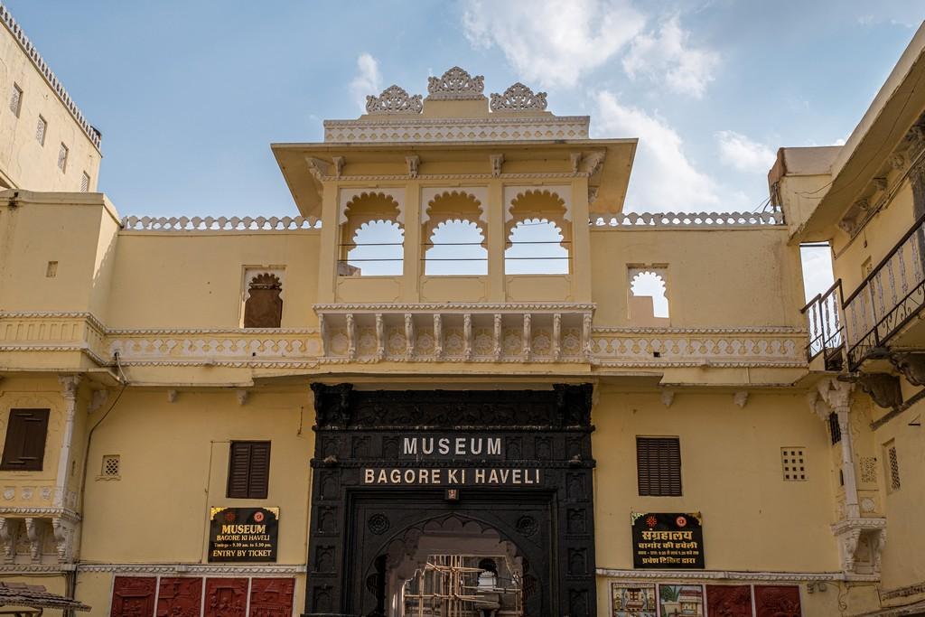 Visita alla Bagore ki Haveli facciata ingresso
