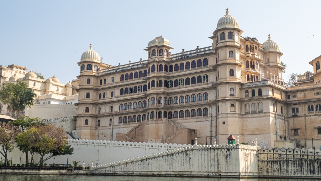 facciata del city palace