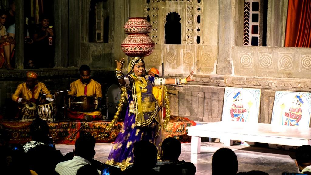 ballerina del Rajasthan