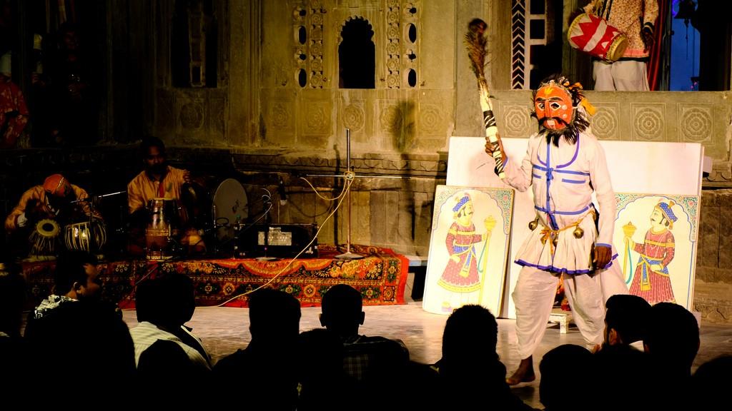 messa in scena di poema epico indiano