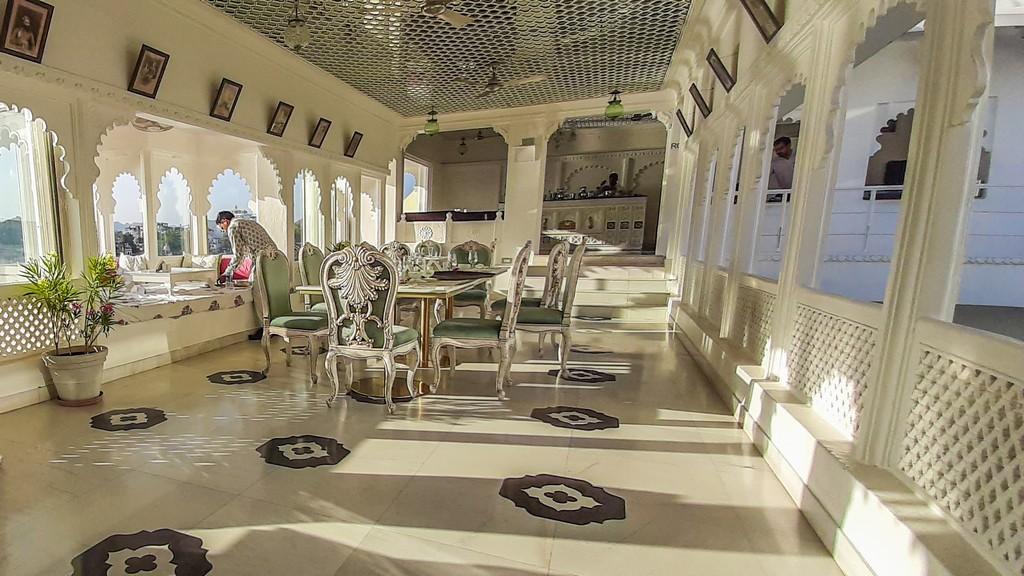 sala da pranzo udaipur