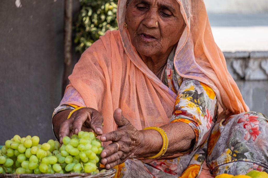 5 cose da fare a Udaipur signora sistema l'uva