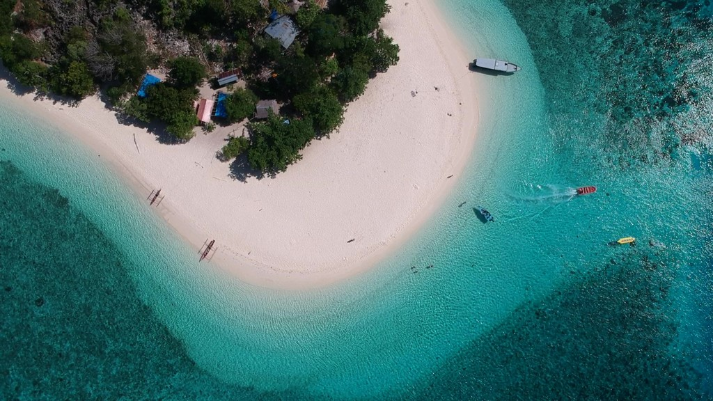 isola vista dall'alto