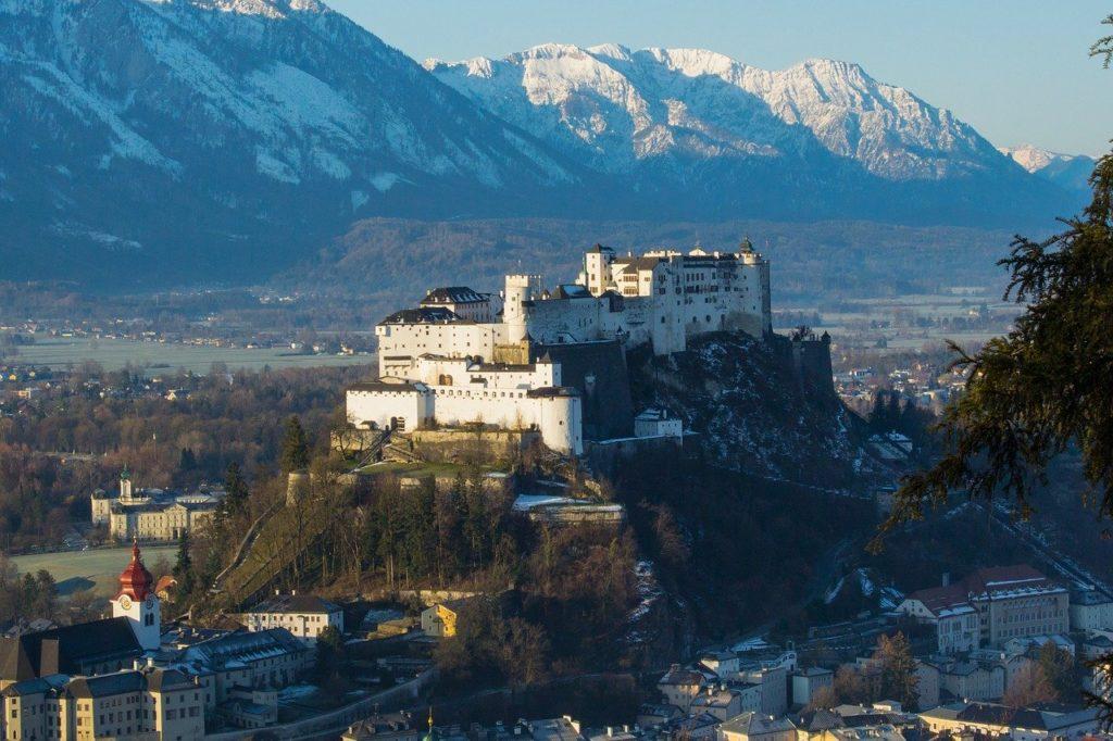 la fortezza di Salisburgo