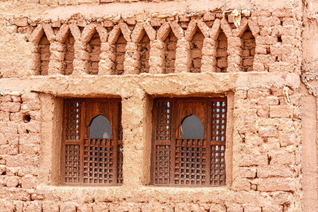 costruzione delle kasbah