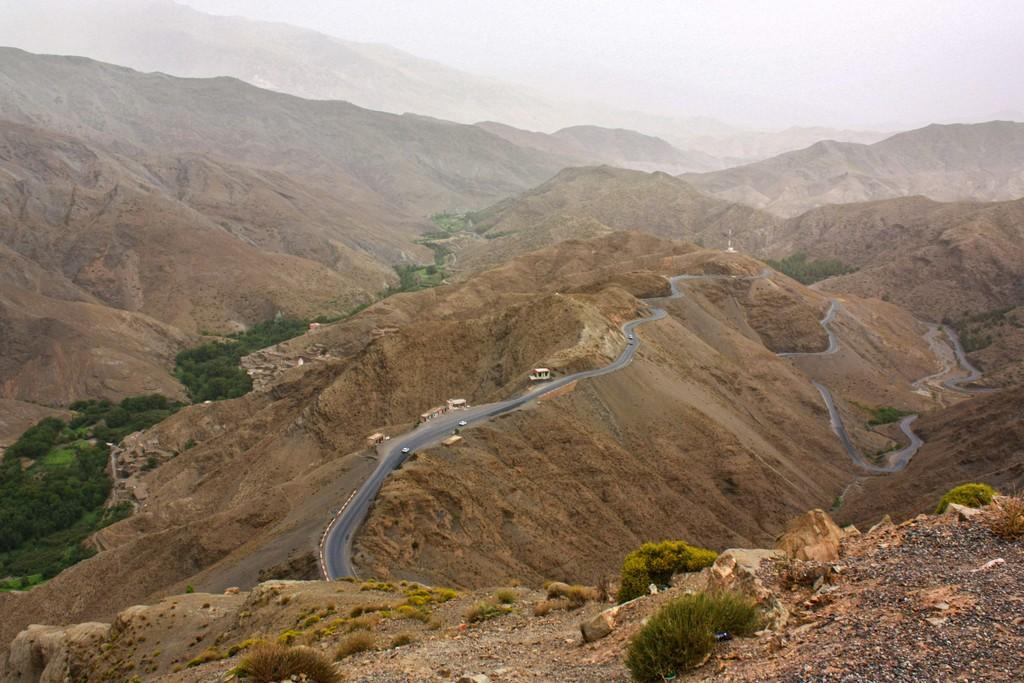 itinerario in Marocco in una settimana passo di montagna e strada