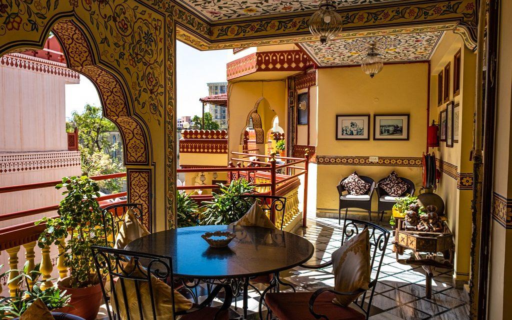 Soggiornare in un heritage hotel indiano