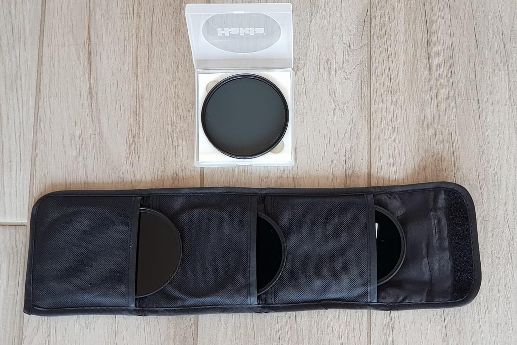 scegliere l'attrezzatura fotografica da viaggio filtri fotocamera