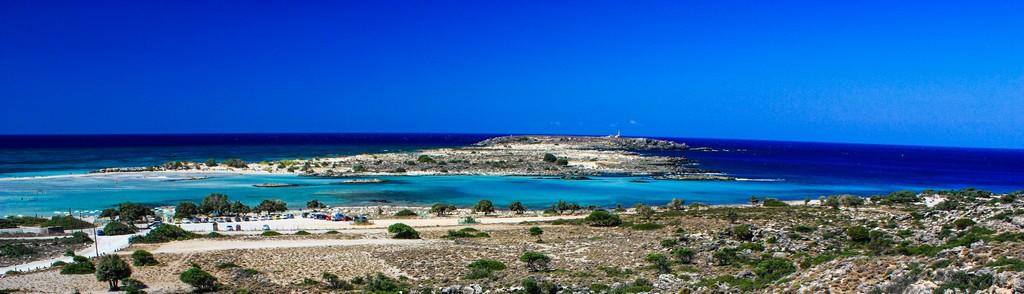 Le migliori spiagge di Creta vista della spiaggia