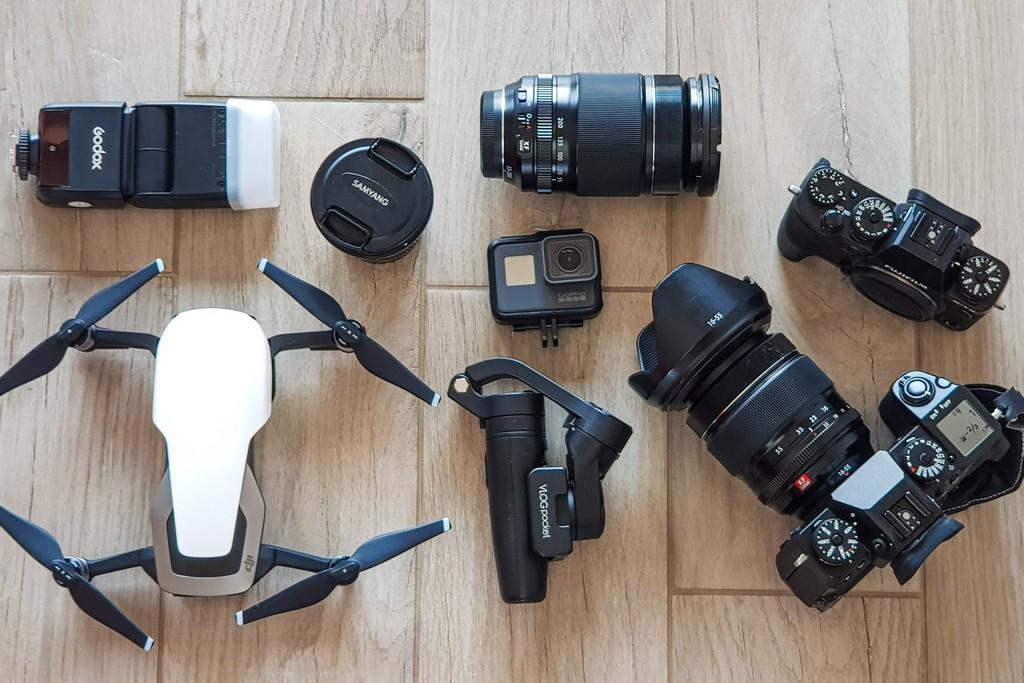 Quali accorgimenti per scegliere l'attrezzatura fotografica da viaggio