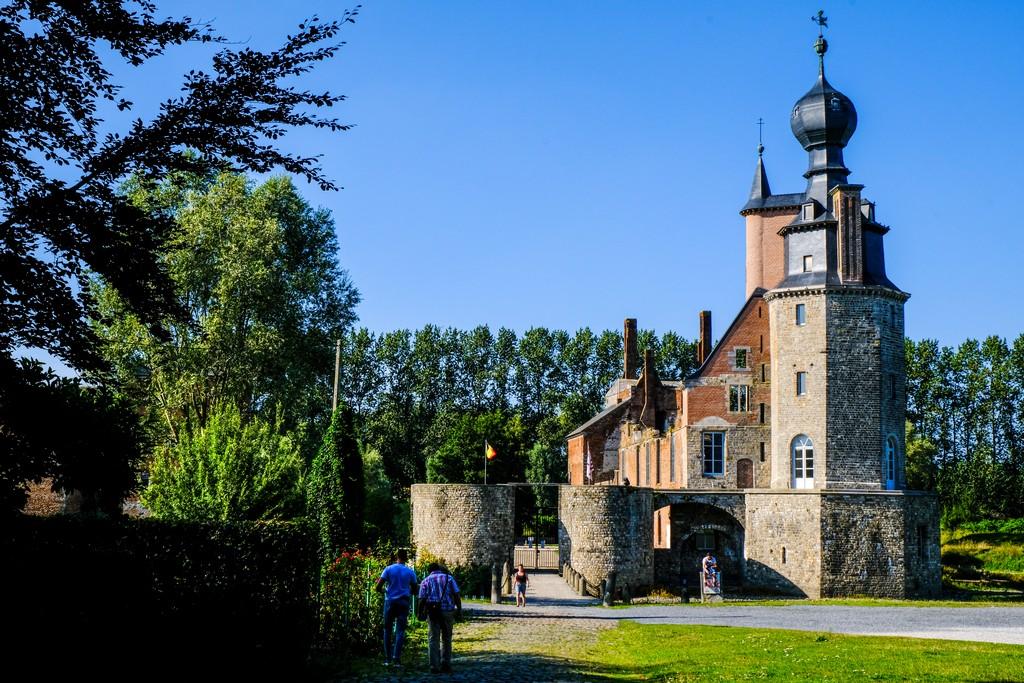 chateau d'havré castello diroccato