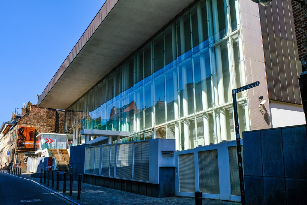 bam museo di belle arti stile moderno