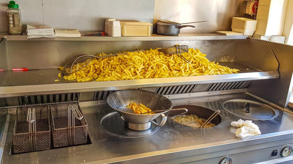 patate fritte pronte