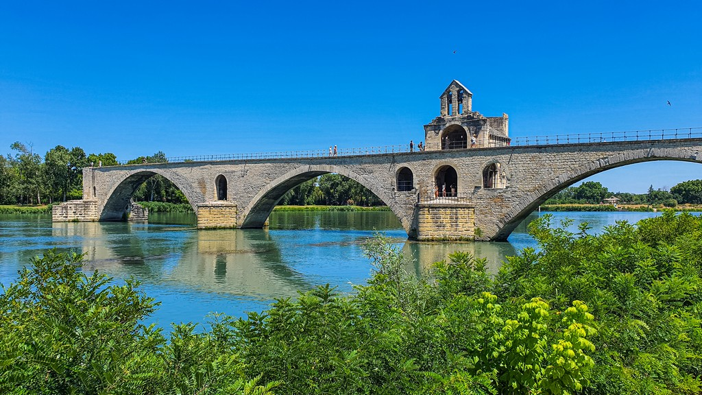 Una giornata ad Avignone ponte di avignone