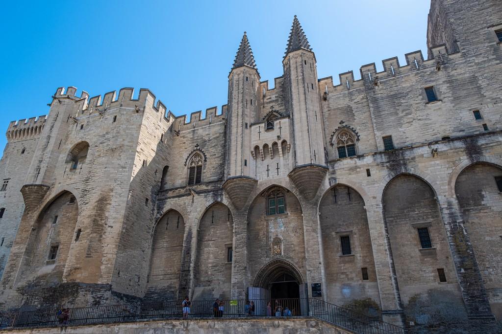 Una giornata ad Avignone palazzo dei papi