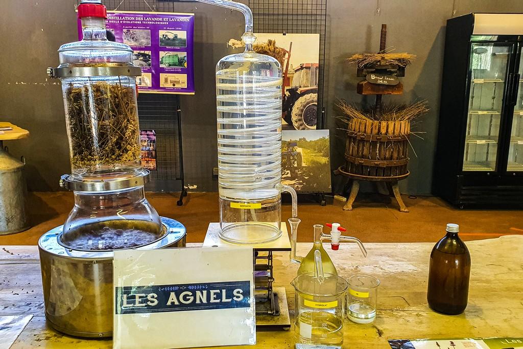minidistillatore per olii essenziali