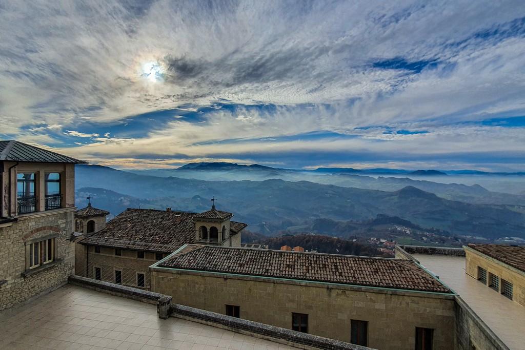giochi di luce perché visitare San Marino in inverno