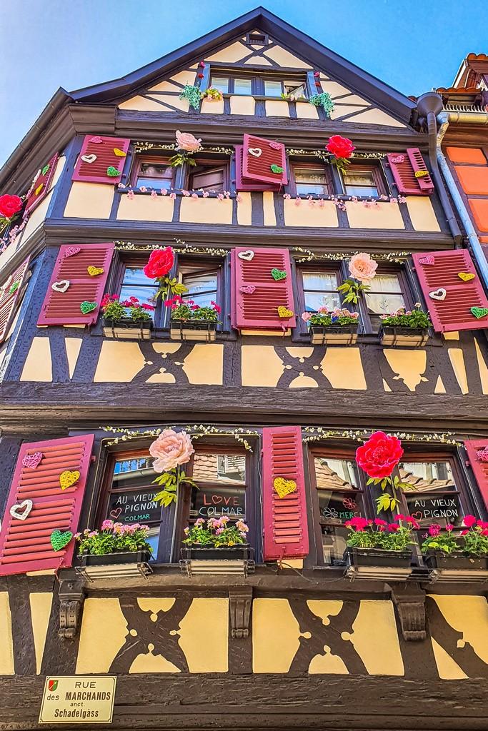 facciata decorata