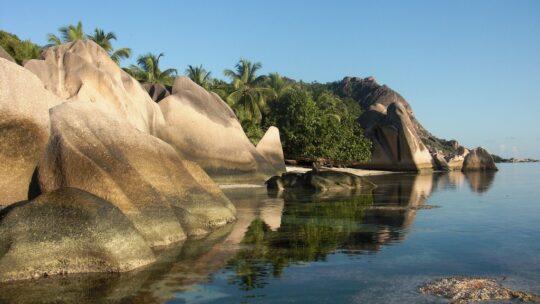 come organizzare seychelles fai da te scogliere di granito nell'acqua