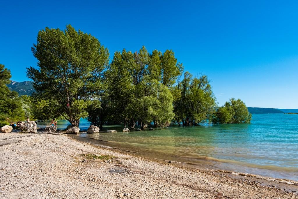 Visita alle Gole del Verdon spiagge sul lago