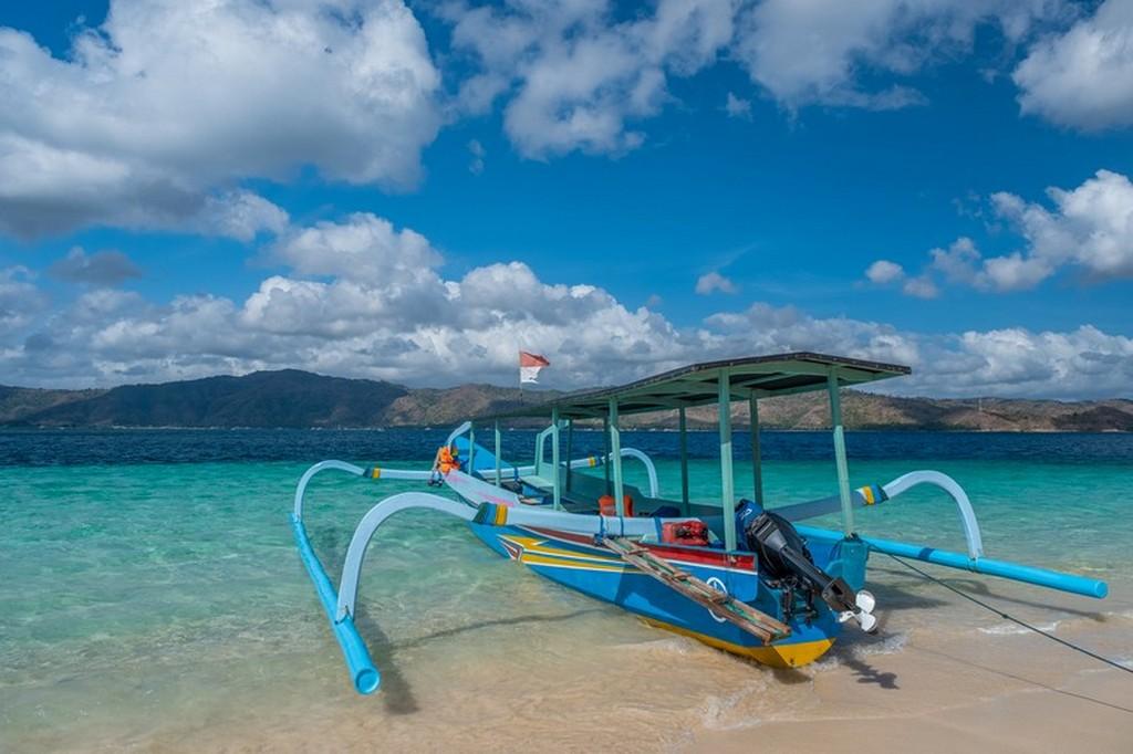Come visitare le Secret Gili di Lombok barca a riva