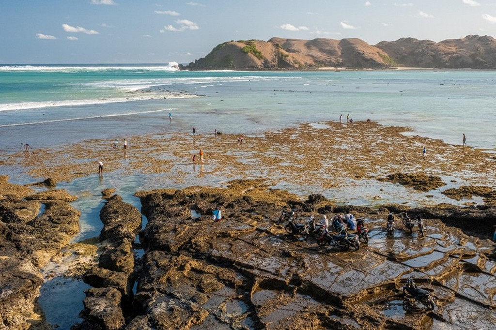 Come visitare Kuta Lombok ingresso della spiaggia